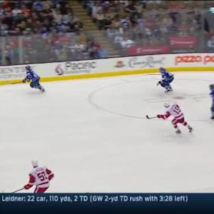 Red Wings at Maple Leafs / Game Highlights