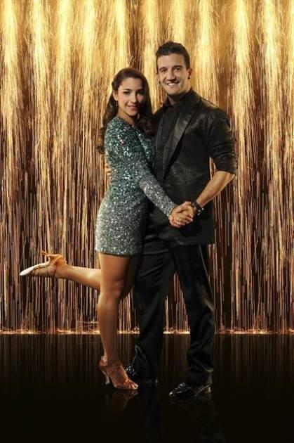 Aly Raisman and Mark Ballas, Season 16, 'Dancing with the Stars' -- ABC