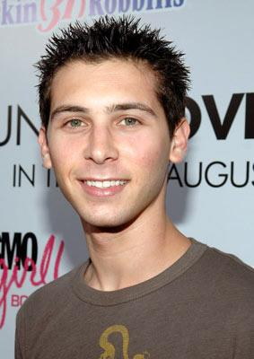 Justin Berfield at the Hollywood premiere of Lions Gate Films' Undiscovered