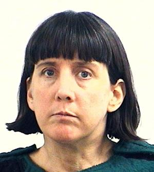 FILE - This Feb. 13, 2010, file booking photo provided by the Huntsville, Ala., Police Department shows college professor Amy Bishop, charged with capital murder in the Feb. 12, 2010 shooting deaths of three faculty members at the University of Alabama in Huntsville. Bishop pleaded guilty to capital murder charges in an agreement that will send to her prison for the rest of her life and make her ineligible for the death penalty. A judge scheduled jury selection for Monday, Sept. 24, 2012, as a trial is still required under Alabama law because Bishop admitted to a capital charge of murder. (AP Photo/Huntsville Police Department, File)