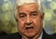 Syrian Foreign Minister Walid al-Moualem addresses the media in Moscow, September 9, 2013. REUTERS/Sergei Karpukhin