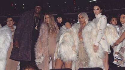 Lamar Odom Makes First Public Appearance Since Hospitalization at Kanye's Fashion Event