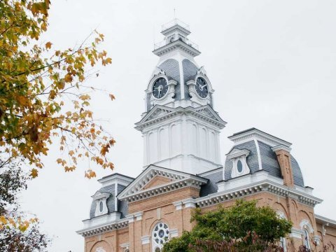 Hillsdale College Clocktower