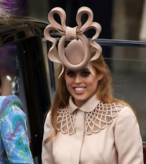 Princess Beatrice of York aarrives at the Royal Wedding of Prince William to Catherine Middleton at Westminster Abbey on April 29, 2011 -- Getty Images