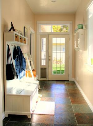 Affordable DIY mudroom ideas