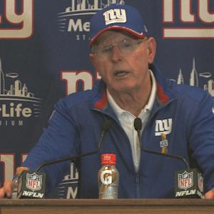 New York Giants postgame press conference