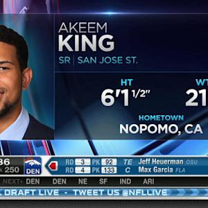 Atlanta Falcons pick safety Akeem King No. 249 in 2015 NFL Draft