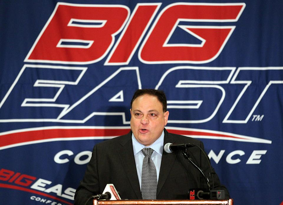 Drained Marinatto resigns as Big East commissioner