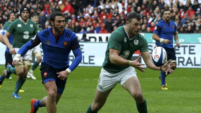 Rugby Union - Six Nations tournament - France vs Ireland