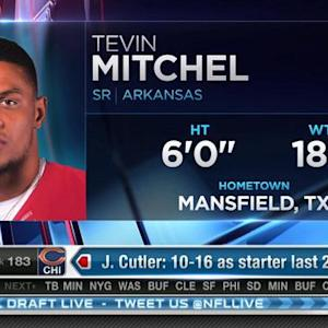 Washington Redskins pick cornerback Tevin Mitchel No. 182 in 2015 NFL Draft