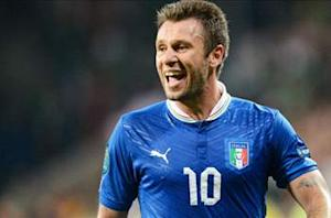 Galliani: Cassano likely to be traded