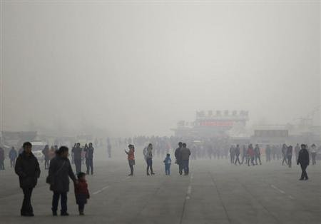 Beijing says one third of its pollution comes from outside the city