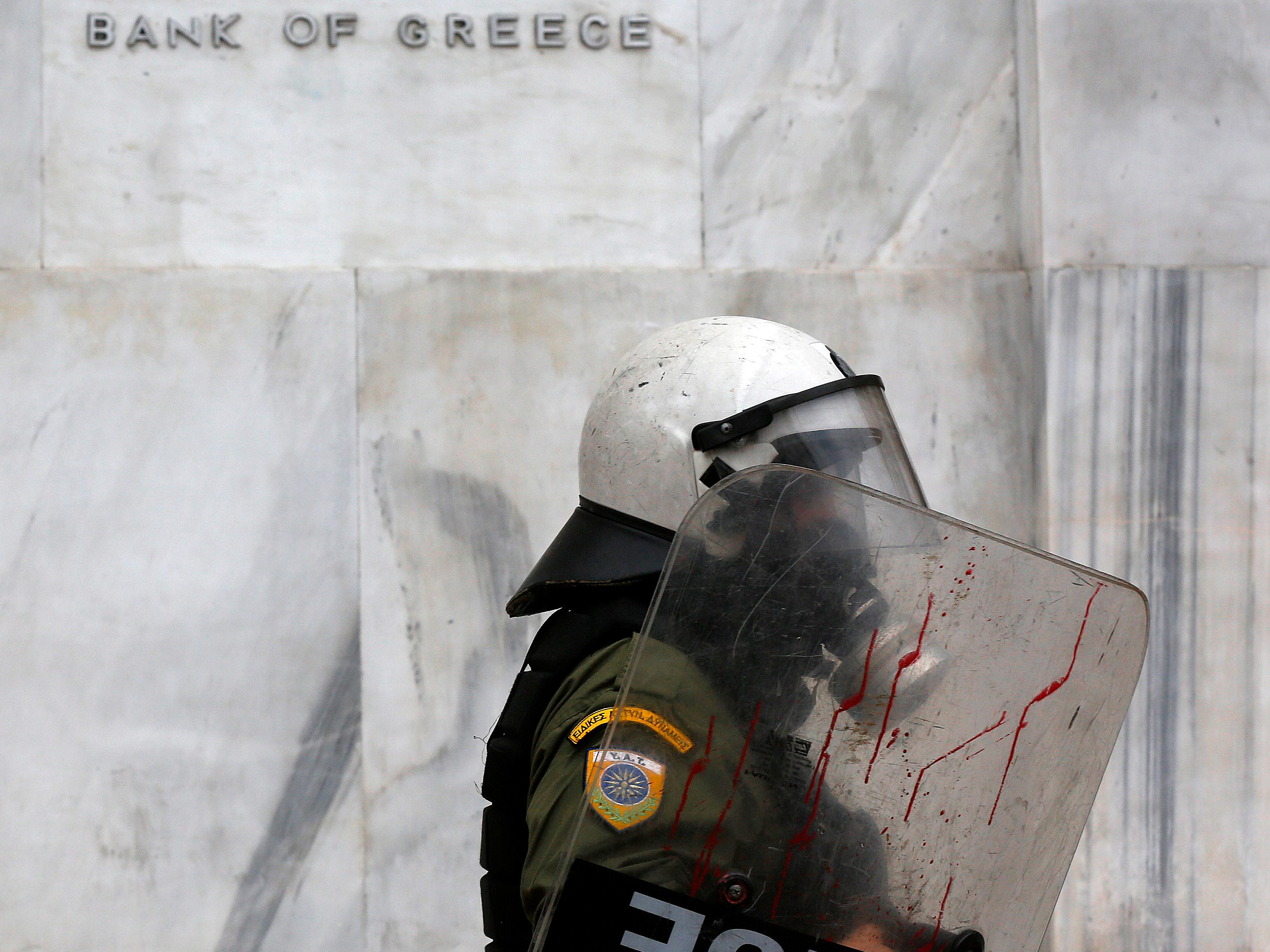 Greek stocks are crashing and austerity is tearing the country apart