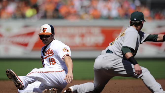 Orioles cruise past Athletics 10-3
