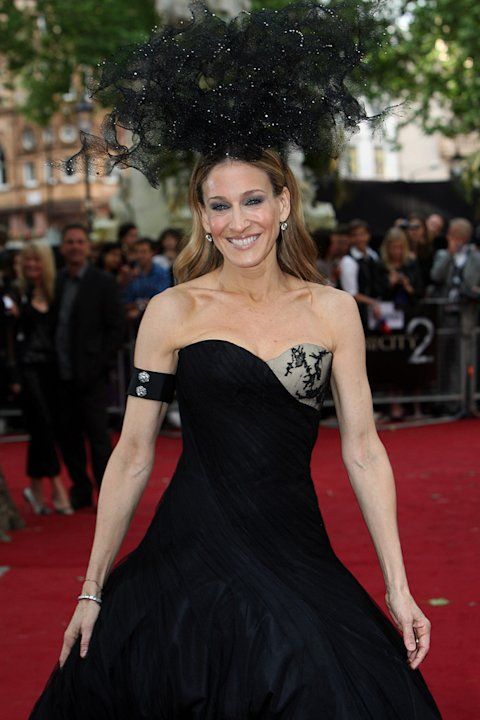 Sex and the City 2 UK Premiere 2010 Sarah Jessica Parker