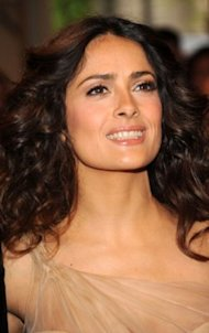Salma Hayek is launching a beauty line called Nuance for CVS. Photo by Getty Images.