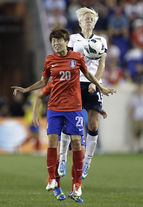 South Korea US Women Soccer