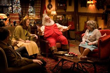 Miranda Richardson , Paul Giamatti and Kathy Bates in Warner Bros. Pictures' Fred Claus