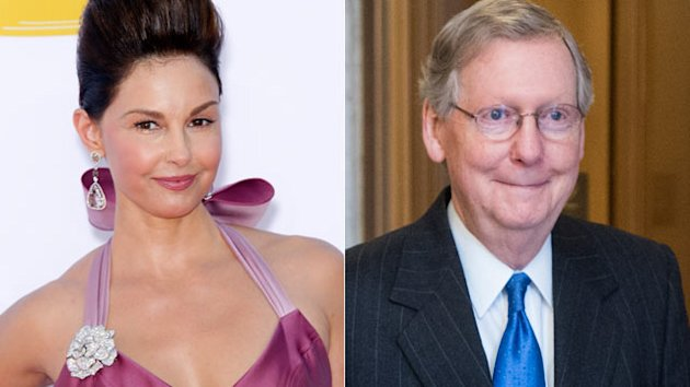 Ashley Judd Weighs Senate Bid as McConnell Does Harlem Shake (ABC News)