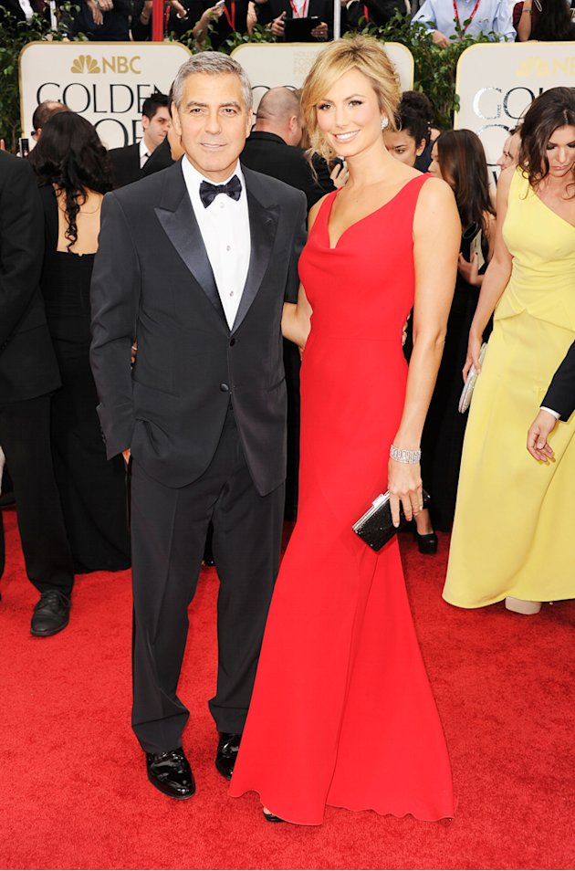 George Clooney and Stacy  …