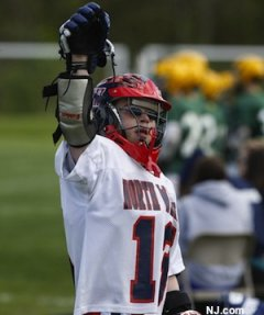 North Warren lacrosse player Mark Griffin, who has Down Syndrome