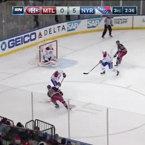 Dustin Tokarski Save on Chris Kreider (17:26/3rd)