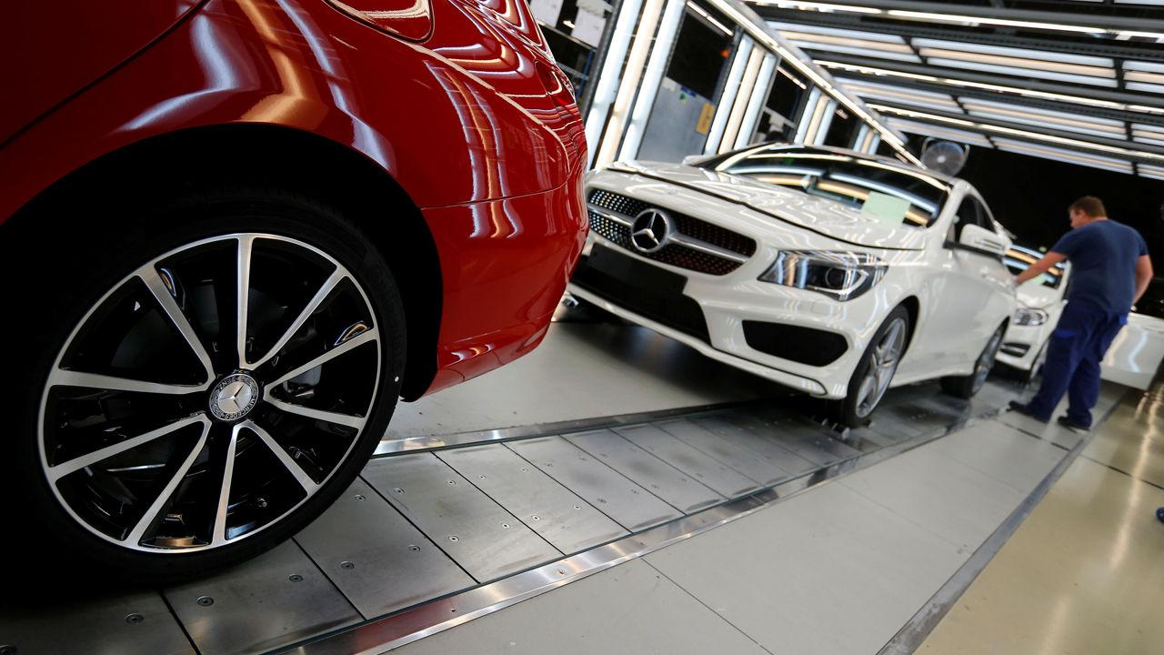 German Automakers Fire Back at Trump