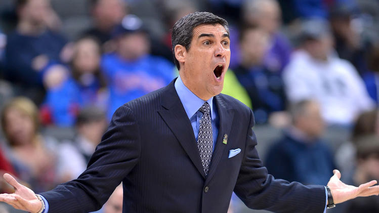 Villanova head coach Jay Wright