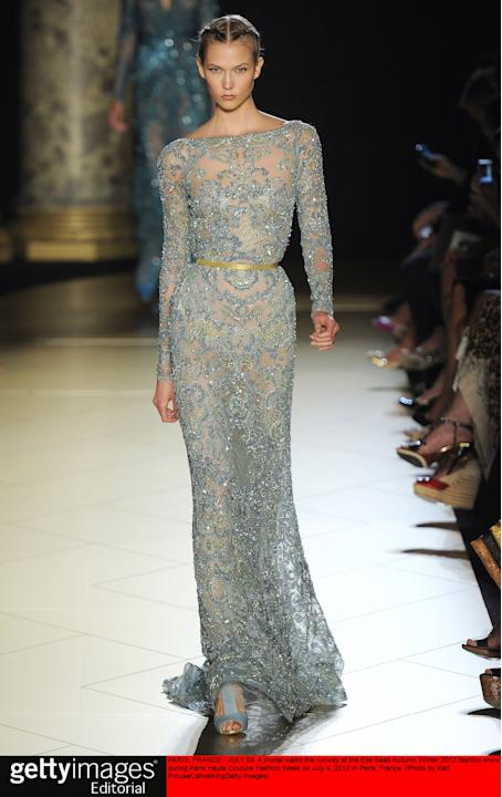 Elie Saab - Couture Autumn Winter 2012 Runway - Paris Haute Couture Fashion Week