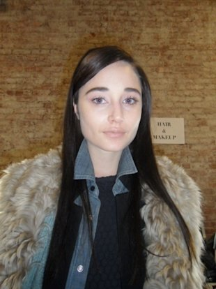 levi's backstage fall 2012 beauty