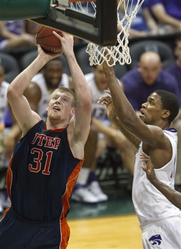 Kansas State holds off UTEP 78-70 in Hawaii