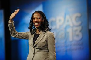 Mia Love waves at the 2013 Conservative Political Action …