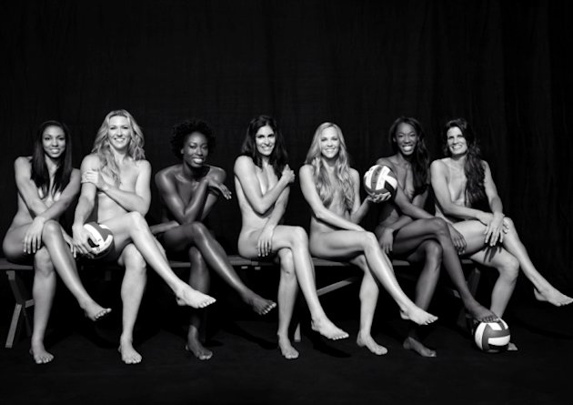 Olympians in London Games who have posed nude (PHOTOS)