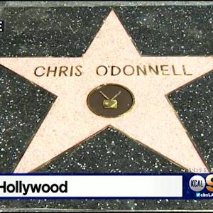 'NCIS: LA' Actor Chris O'Donnell Honored With Star On Walk Of Fame