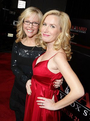 Rachael Harris and Angela Kinsey at the Los Angeles premiere of Columbia Pictures' Walk Hard: The Dewey Cox Story