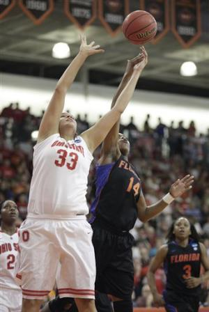 Florida women hold on to beat Ohio State 70-65