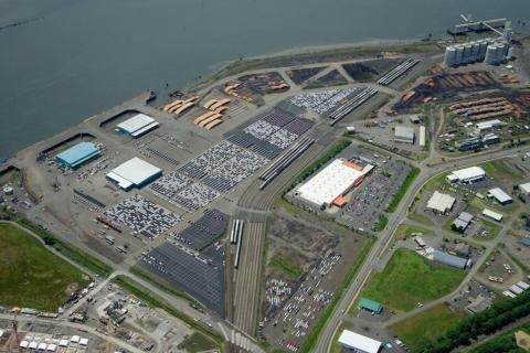 New Infrastructure at Port of Grays Harbor