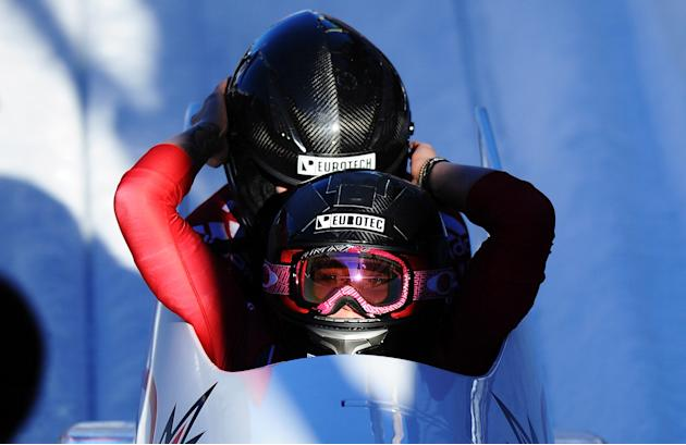 IBSF Bob & Skeleton World Championship 2013 - Day 2