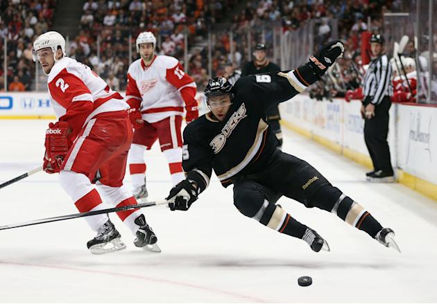 Detroit Red Wings v Anaheim Ducks - Game Five