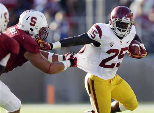 No. 21 Stanford upsets No. 2 USC, 21-14