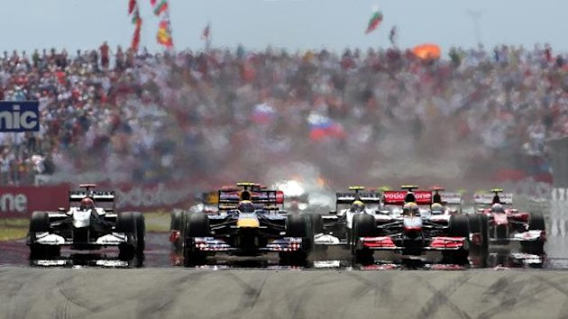 2010 Turkish GP start