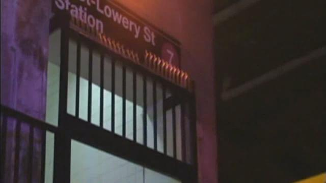 Man pushed from subway platform