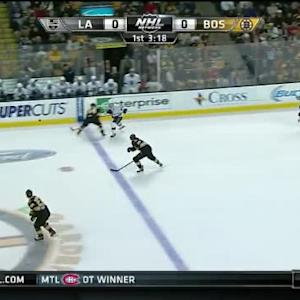 Dennis Seidenberg Hit on Dustin Brown (16:46/1st)