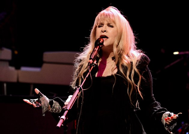 "LOS ANGELES, CA - JANUARY 31:  Singer Stevie Nicks performs at the concert to celebrate the premiere of ""Sound City"" at the Hollywood Palladium on January 31, 2013 in Los Angeles, California.  (Photo by Kevin Winter/Getty Images)"