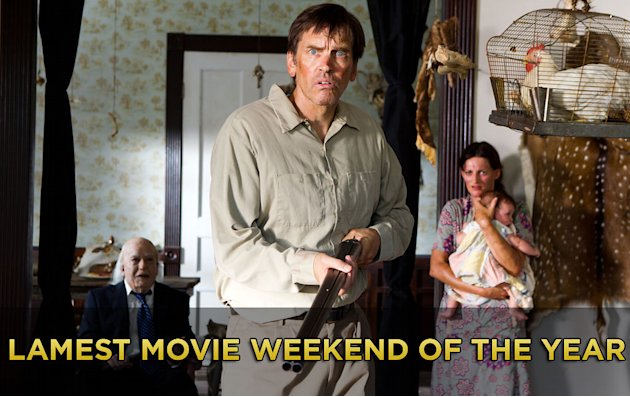 lamest movie weekend 2012 title card