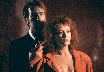 Alan Rickman and Bonnie Bedelia in 20th Century Fox's Die Hard
