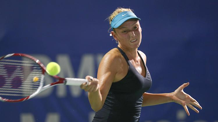 Vekic beats Cibulkova for 1st WTA title