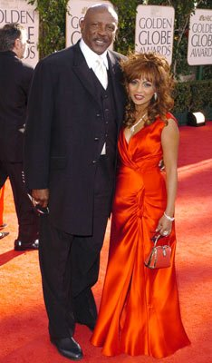 Louis Gossett Jr. and guest 62nd Annual Golden Globe Awards - Arrivals Beverly Hills, CA - 1/16/05