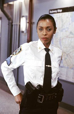 "Khandi Alexander as Sgt. Karen Smythe NBC's""Law and Order: Special Victims Unit"" Law & Order: Special Victims Unit"