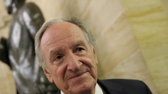 FILE - In this Dec. 28, 2012 file photo Democratic Iowa Sen. Tom Harkin speaks on Capitol Hill in Washington. Records show Harkin's campaign fundraiser gave Iowa State University a list of possible donors to The Harkin Institute of Public Policy, his namesake research institute, though university officials have promised he would have no influence over the center that would house the papers. The Harkin Institute of Public Policy would house the papers of the senator, who recently announced he would not seek a sixth term in 2014. (AP Photo/Susan Walsh)